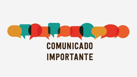 Banner - Comunicado Importante